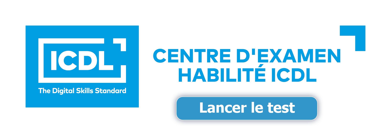 Logo Centre d'Examen Habilité ICDL - bouton 1