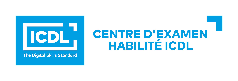Logo Centre d'Examen Habilité ICDL