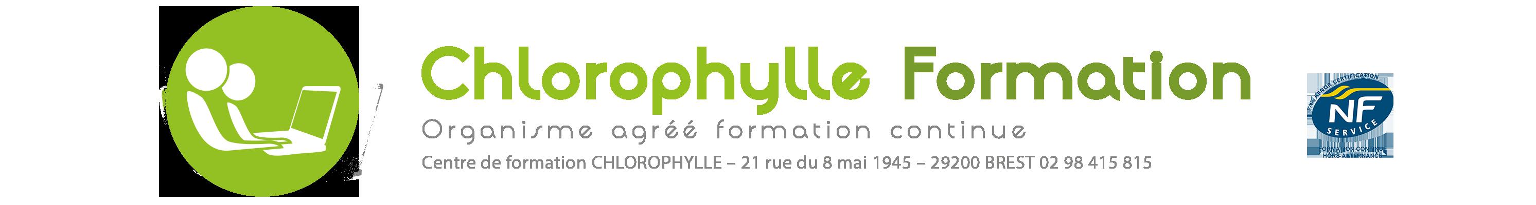 Chlorophylle Formations